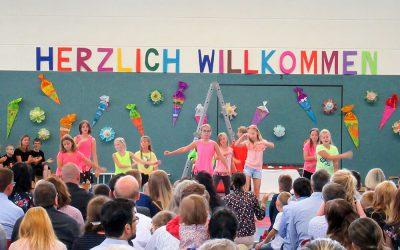 Einschulungsfeier der Peter-Pan-Schule