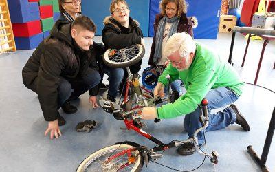 Fahrradcodieraktion der Verkehrswacht