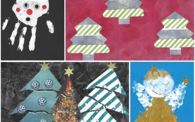 Weihnachtsmalwettbewerb mit VW-Consulting